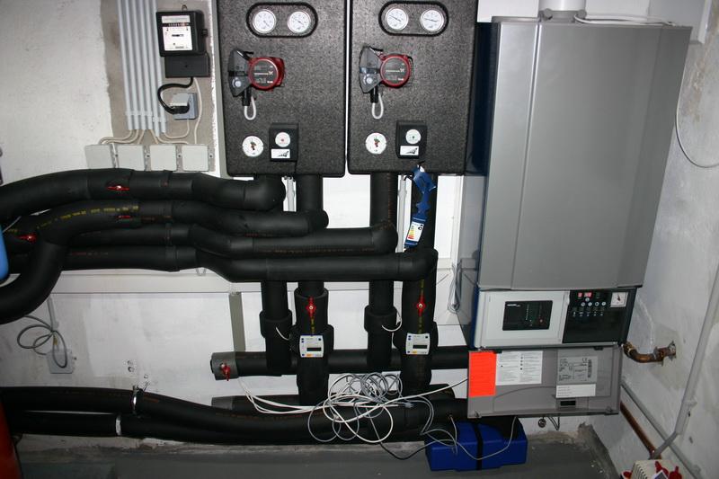 isolierung der rohrleitungen einer thermischen solaranlage